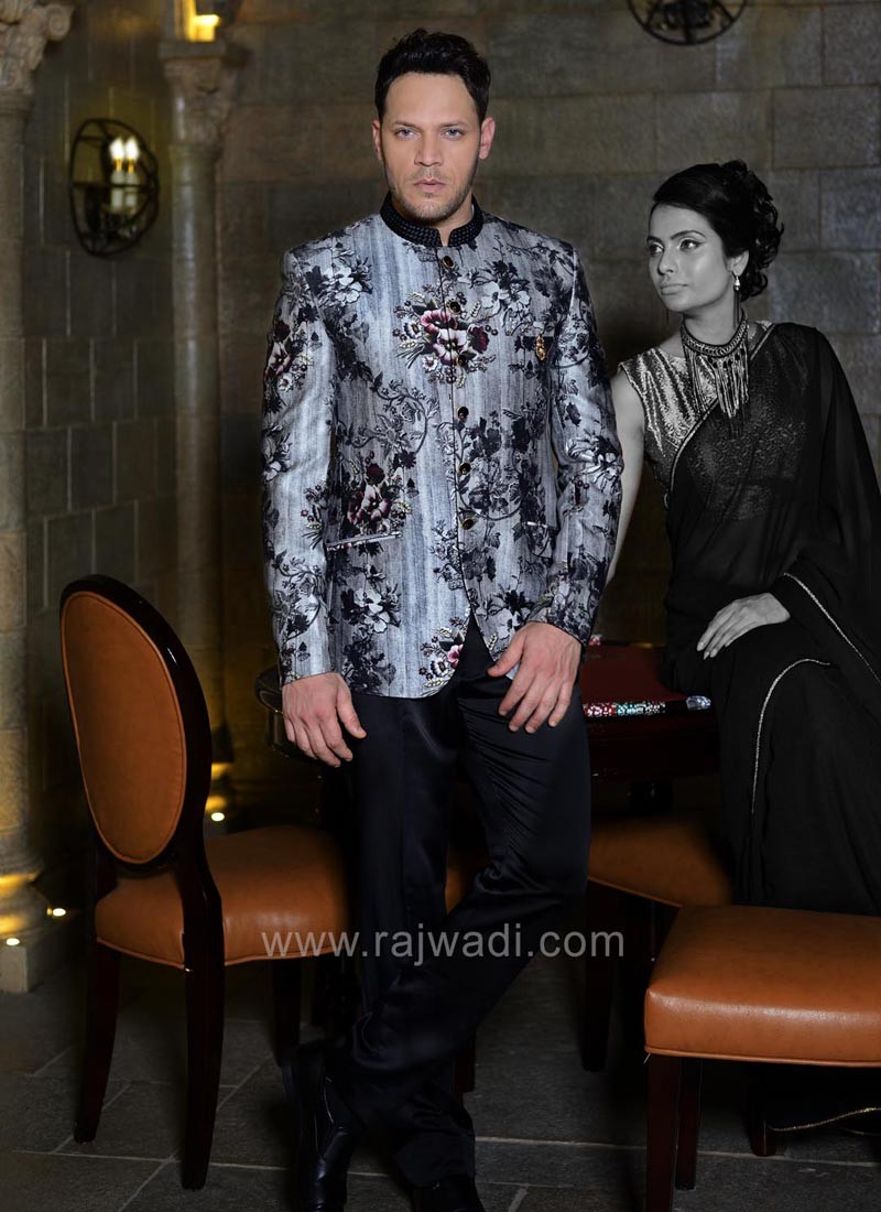 Terry Rayon Fabric Jodhpuri Suit