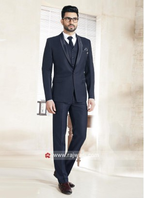 Terry Rayon Fabric Wedding Suit