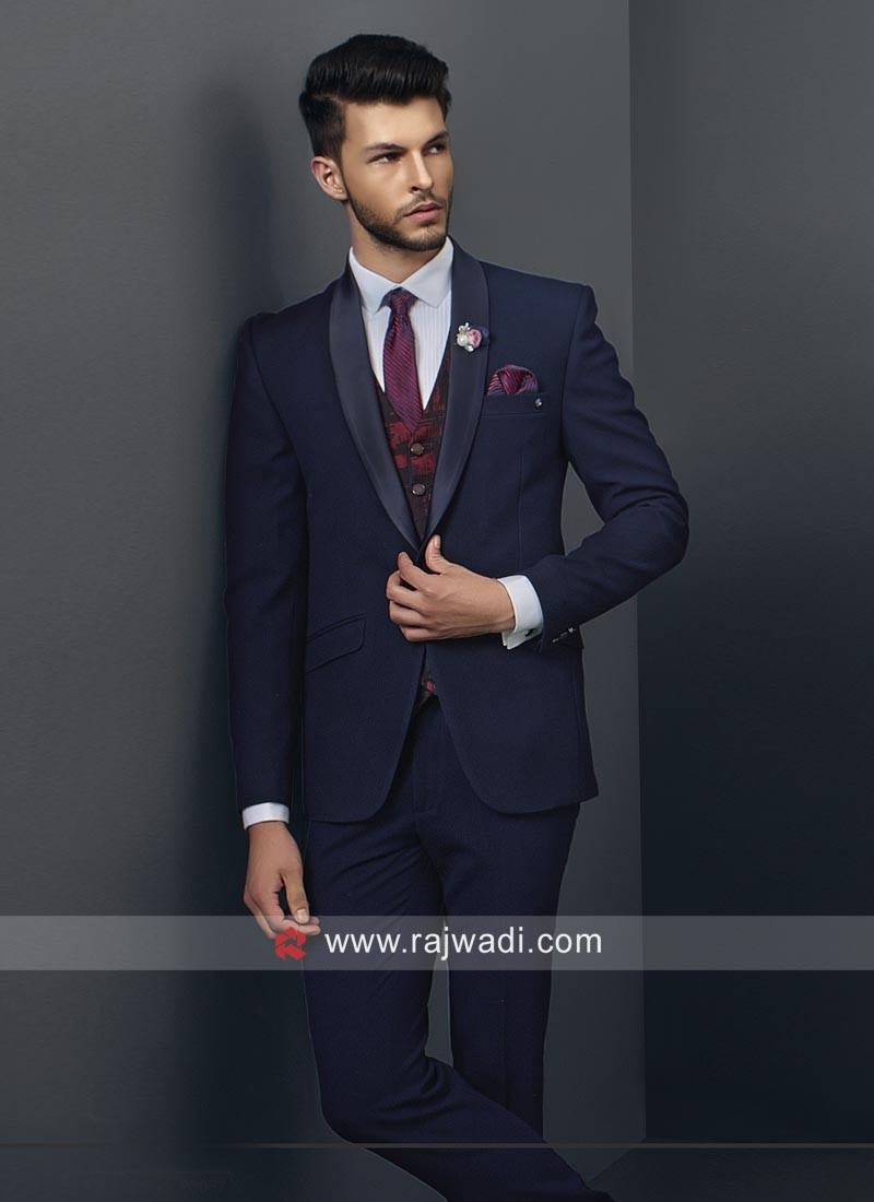 Imported Blue Color Suit