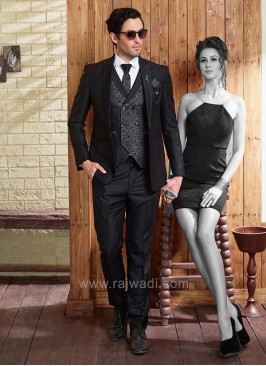 Terry Rayon Party Wear Suit