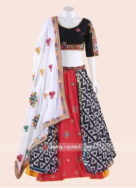 Thread Work Chaniya Choli for Garba