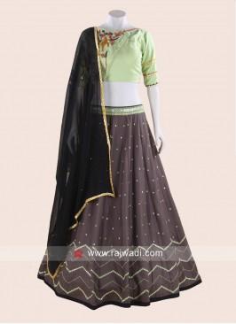 Thread Work Cotton Navratri Chaniya Choli