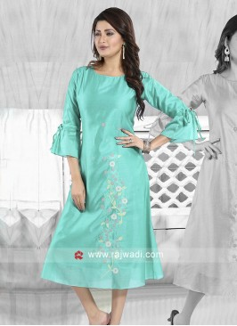 Thread Work Designer Kurti