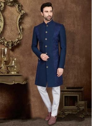 Thread Work Indo-Western For Wedding
