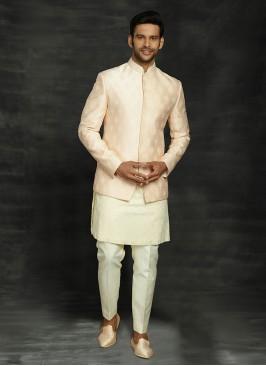 Thread Work Indowestern For Wedding