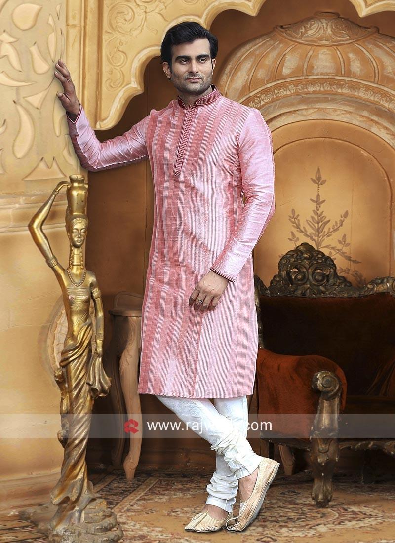 Charming Pink Kurta Pajama
