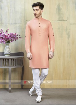 Light Peach Kurta Pajama