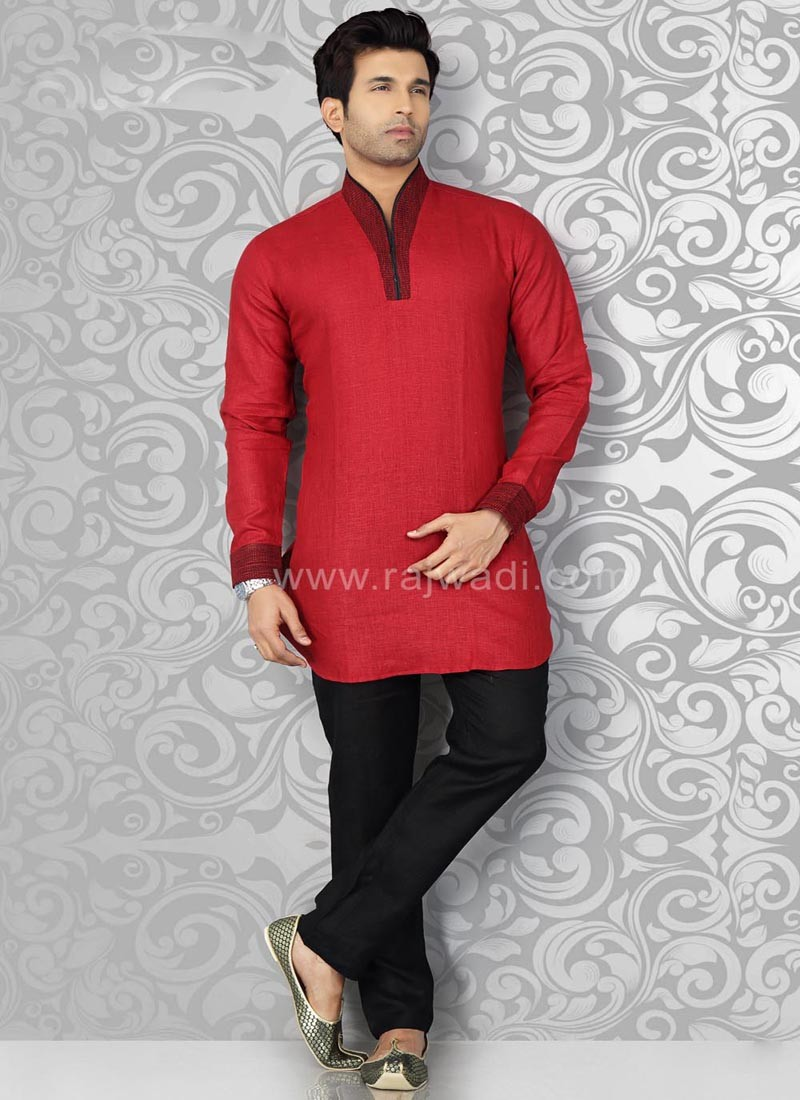 Thread Work Kurta Pajama