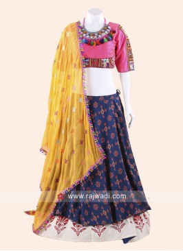 Thread Work Navratri Chaniya Choli