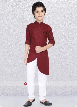 Wedding Maroon Kurta Pajama