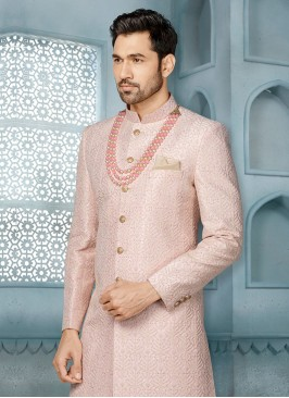 Thread Work Sherwani For Wedding
