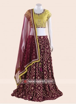 Thread Work Traditional Lehenga Choli