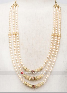 Three Line Pearl  Mala