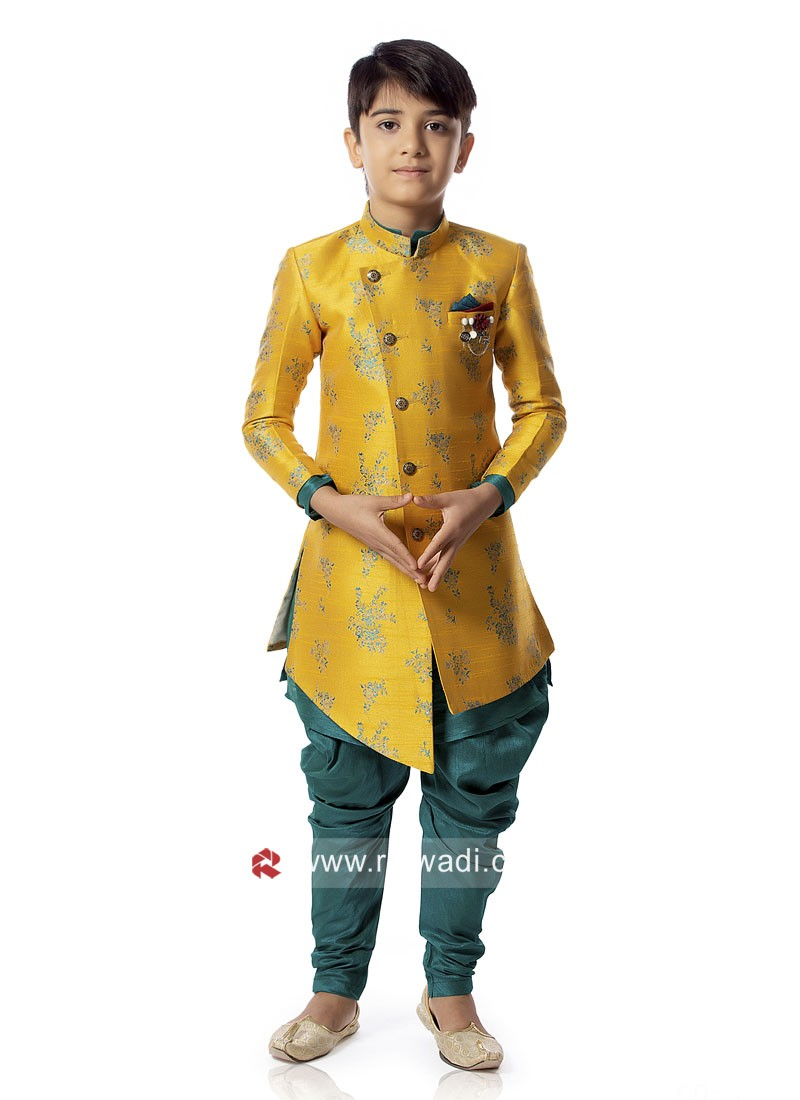 Traditional Art Silk Indo Western