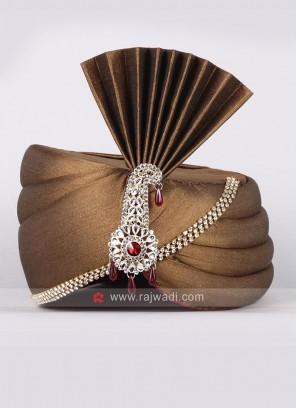 Traditional Art Silk Safa