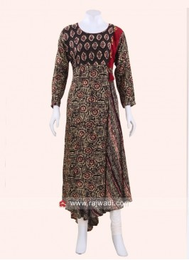 Traditional Asymmetrical Kurti