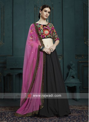 Traditional Black Lehenga Choli