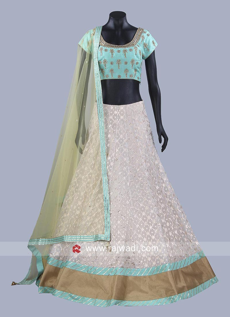 Traditional Brocade Lehenga Choli