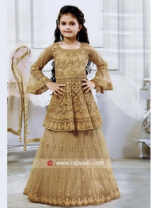 Traditional Choli Suit for Girls