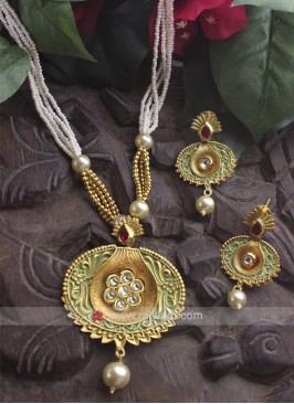Traditional Copper Necklace Set