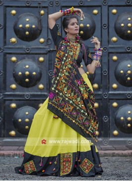 Traditional Cotton Chaniya Choli for Garba