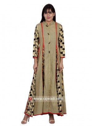 Traditional Cotton Long Kurti