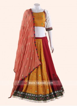 Traditional Cotton Silk Chaniya Choli
