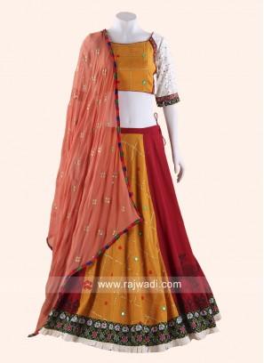 Traditional Cotton Silk Chaniya Choli