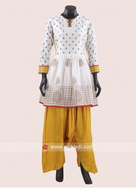 Traditional Cotton Silk Dhoti Suit