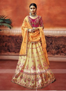 Traditional Embroidered Lehenga Choli