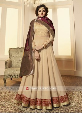 Traditional Floor Length Anarkali Suit