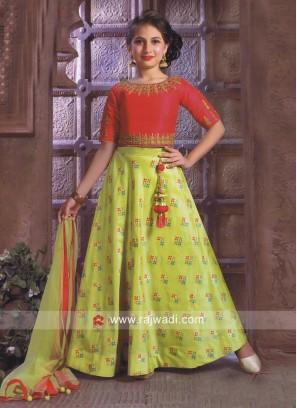 Traditional Girls Choli Suit