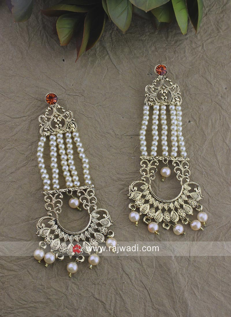 Traditional Gold Plated Earrings