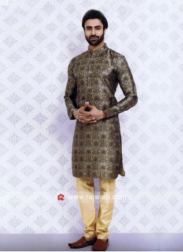 Traditional Green Kurta Pajama