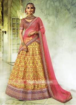 Traditional Handloom Silk Lehenga