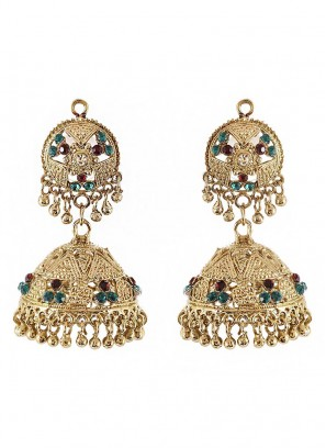 Traditional Jhumki Earrings