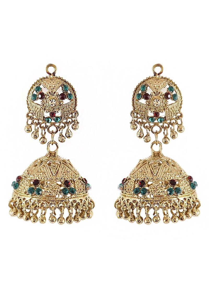 Traditional Jhumki Earrings