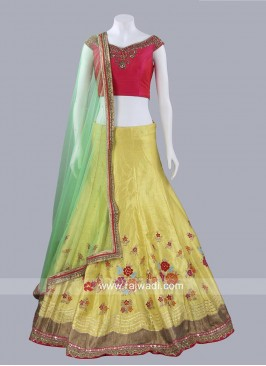 Traditional Lehenga Set with Dupatta