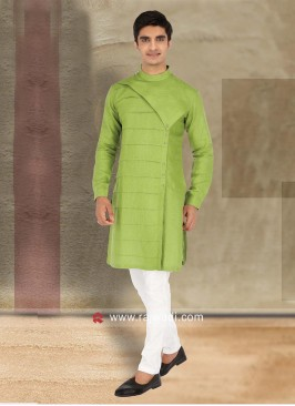 Traditional Linen Kurta Pajama