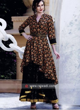 Traditional Multicolor Layered Kurti