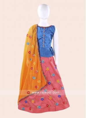 Traditional Navratri Chaniya Choli for Girls