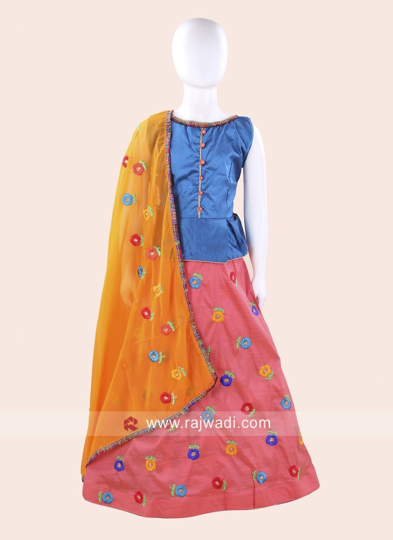 Traditional Navratri Chaniya Choli for Girls