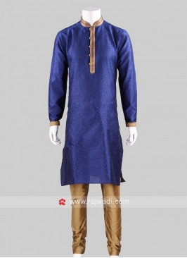 Traditional Navy kurta pajama