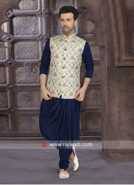 Traditional Navy Nehru Jacket