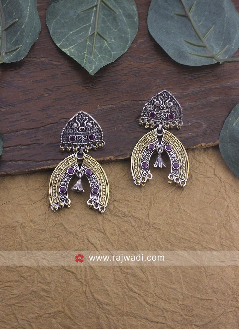 Traditional Oxidize Earrings