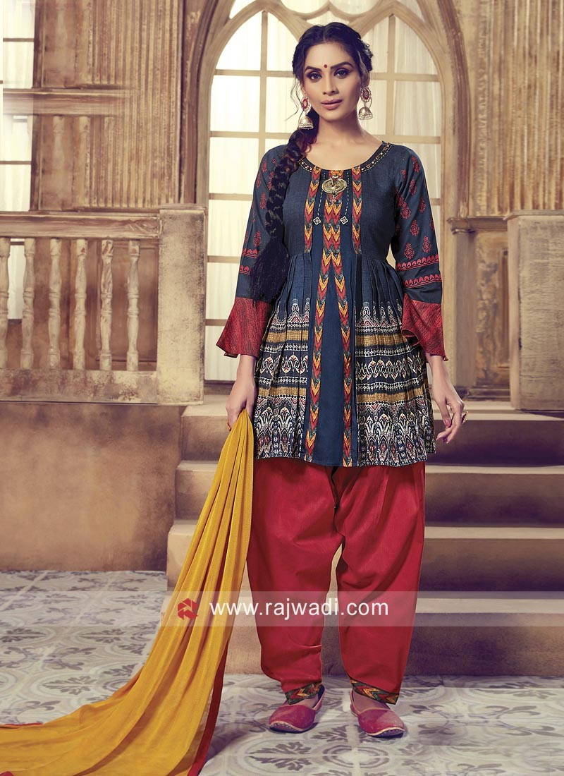 Traditional Patiala Suit for Summer