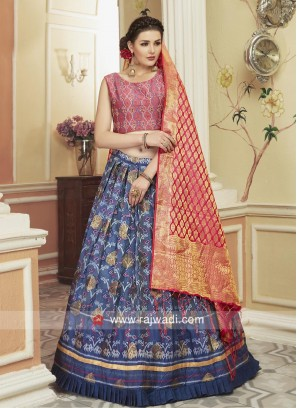 Traditional Patola Lehenga Choli