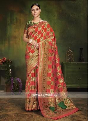 Traditional Patola Silk Saree