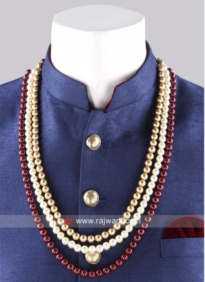 Traditional Pearl Work Mala