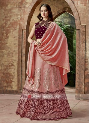 Traditional Printed Lehenga Choli